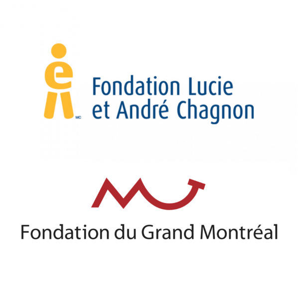 Thanks to the Lucie and André Chagnon Foundation & The Foundation of Greater Montréal.