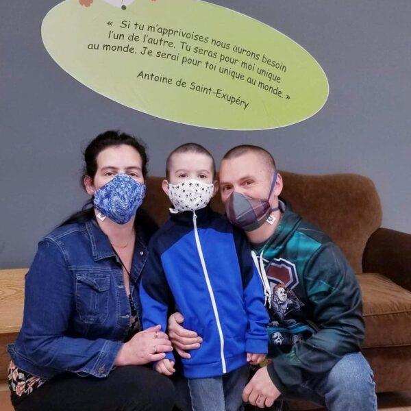 Artisanal masks donated by Cinémask