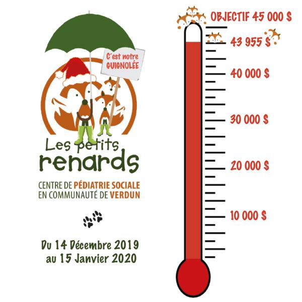 Objective almost reached for Dr. Julien's Guignolée to benefit Les Petits Renards of Verdun