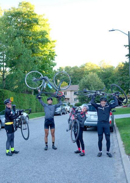 Montréal-Québec à vélo en une journée