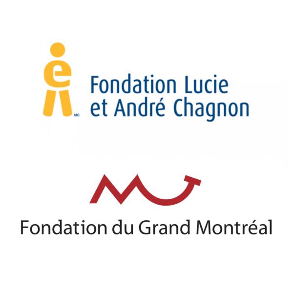 Merci à la Fondation Lucie et André Chagnon & La Fondation du Grand Montréal.
