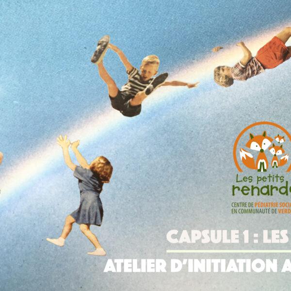 « Les émotions » Atelier d'initiation au théâtre – Capsule 1