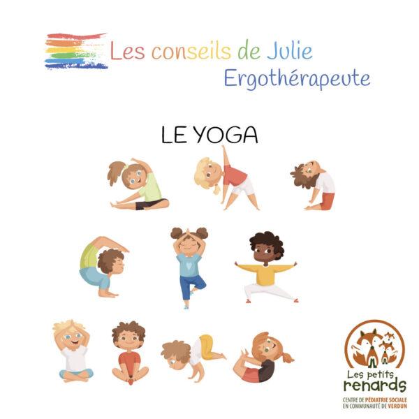 Les conseils de Julie, ergothérapeute – Le yoga